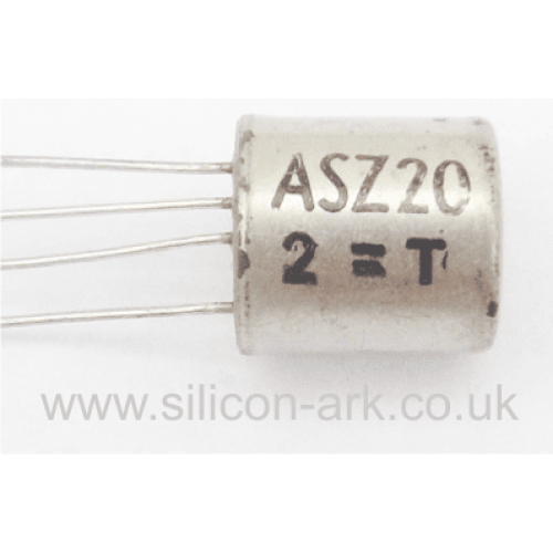 ASZ20  PNP Germanium transistor - Mullard