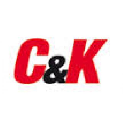 C&K   domed nut