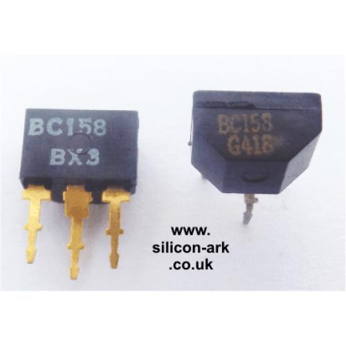 BC158  silicon PNP transistor