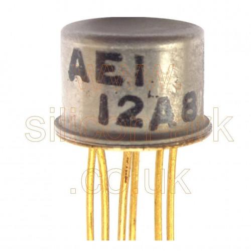12A8 dual silicon NPN transistor - AEI