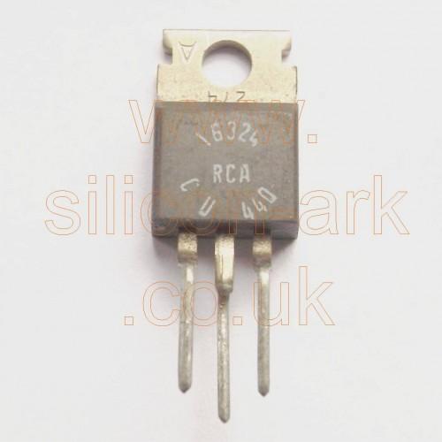 16324 thyristor - RCA