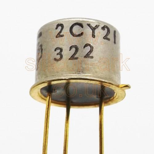 2CY21 Germanium PNP transistor - Texas Instruments