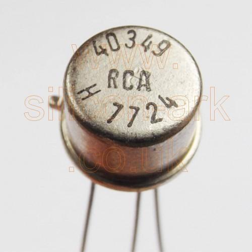 40349 Silicon NPN transistor - RCA