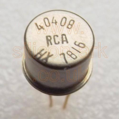 40408 Silicon NPN transistor - RCA