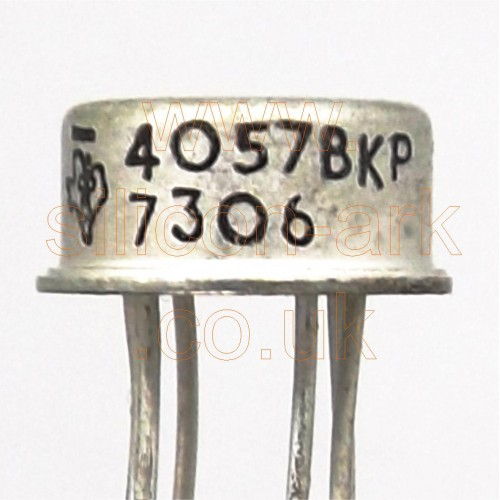 4057BKP dual silicon NPN transistor - Texas Instruments