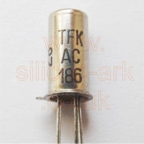 AC186 Germanium NPN transistor - Telefunken