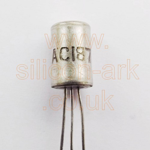 AC187 Germanium NPN transistor