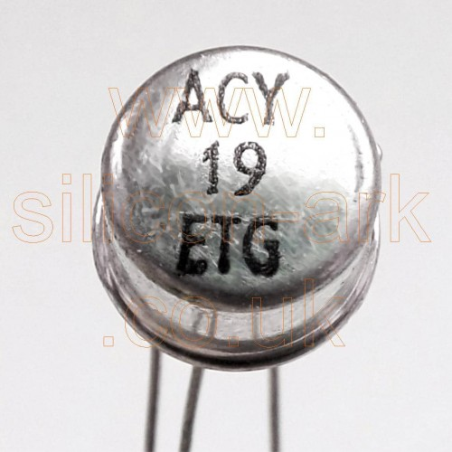 ACY19 Germanium PNP transistor