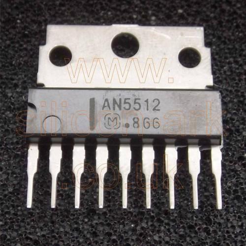 AN5512 TV vertical deflection output circuit - matsushita