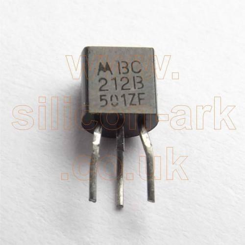 BC212B silicon PNP transistor pre-formed - Motorola