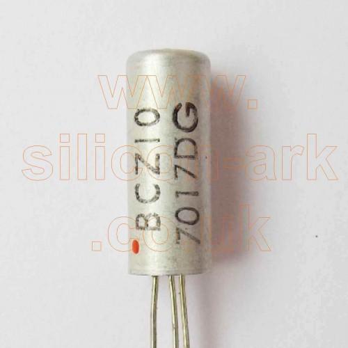 BCZ10 silicon PNP transistor - Philips