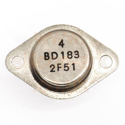 BD183 silicon NPN power transistor