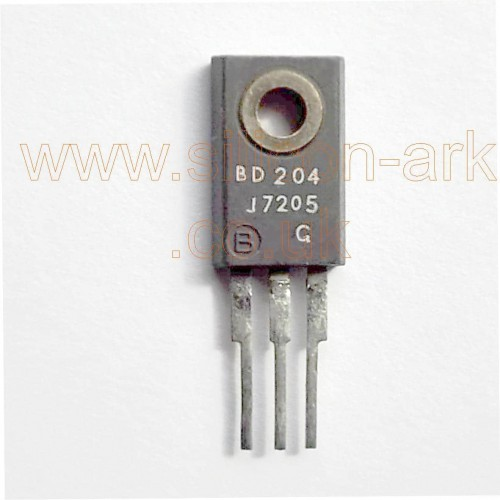 BD204  silicon PNP transistor