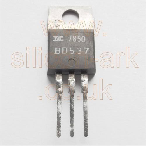 BD537  silicon NPN transistor - SGS