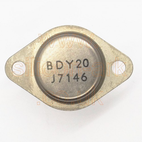 BDY20 silicon NPN transistor - Philips