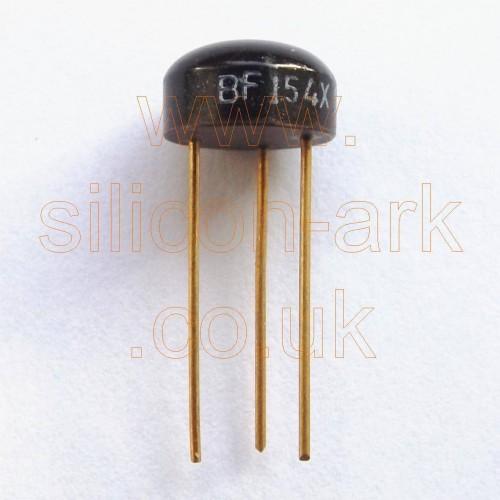 BF154X silicon NPN transistor - SGS
