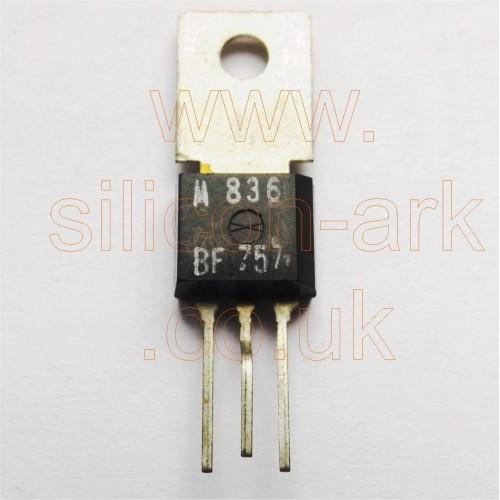 BF757 silicon NPN transistor - Motorola