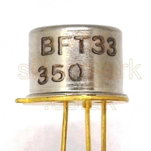 BFT33 silicon NPN  transistor - Texas Instruments