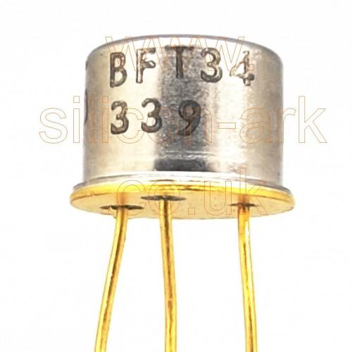 BFT34 silicon NPN  transistor - Texas Instruments