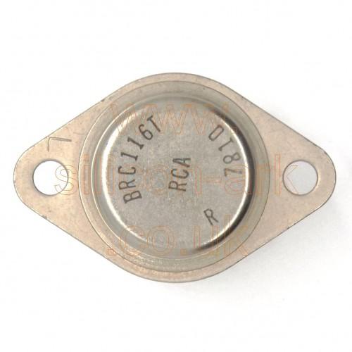 BRC116T silicon NPN transistor - RCA
