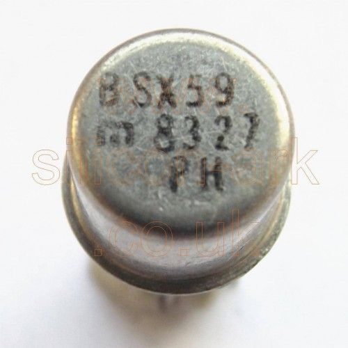 BSX59 silicon NPN transistor - Philips
