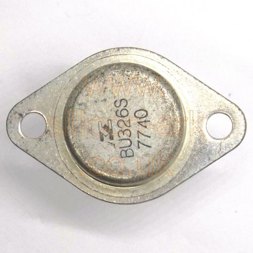 BU326S silicon NPN transistor - SGS-ATES