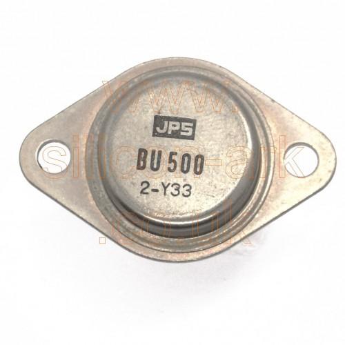 BU500 silicon NPN Power transistor - JPS