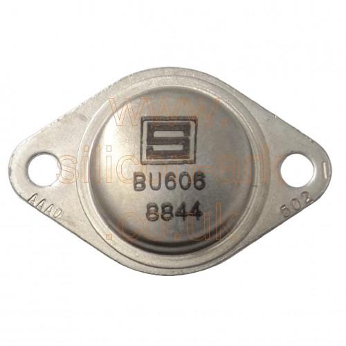 BU606 silicon NPN transistor - Semiconductors inc.