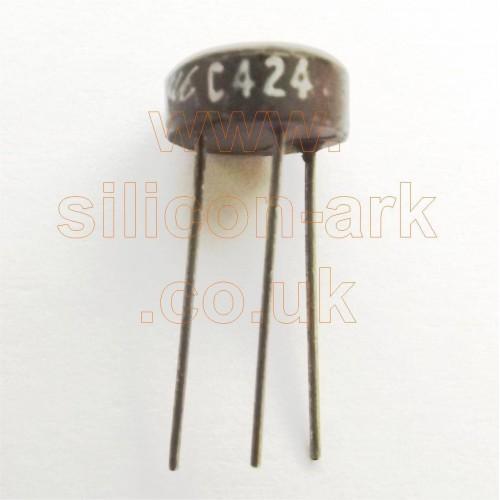 C424 silicon NPN transistor - Micro Electronics