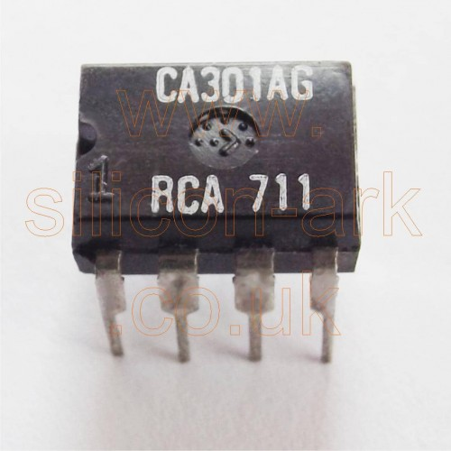 CA301A (CA301AG) Op-Amp  (8 pin DIP version)  - RCA