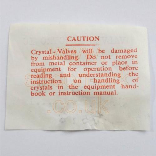 CV253 crystal valve