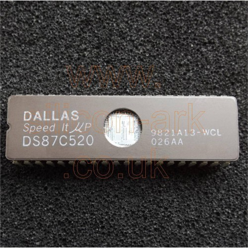 DS87C520WCL EPROM/ROM High-Speed Microcontroller - Dallas Semiconductor