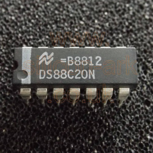 DS88C20N  dual line receiver - National Semiconductor