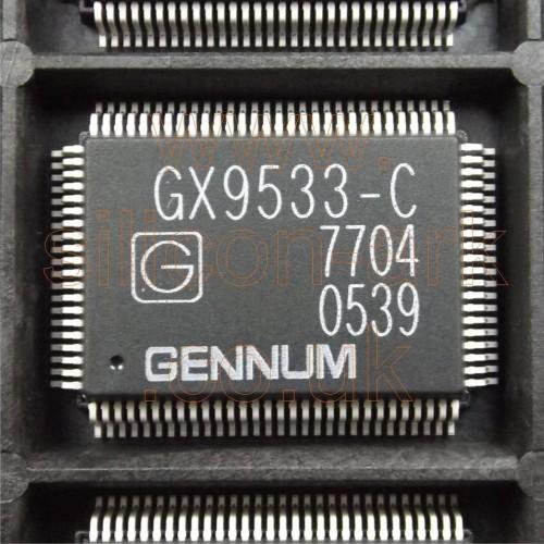 GX9533-CQY  high speed 8x9 serial digital crosspoint - Gennum