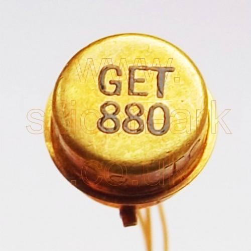 GET880 PNP Germanium transistor - G.E.C.