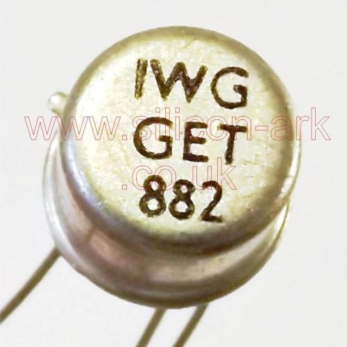 GET882 Germanium PNP transistor