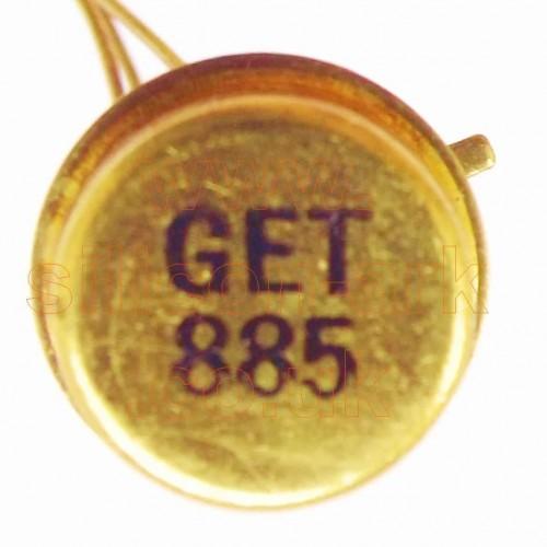 GET885 Germanium PNP transistor - Mullard