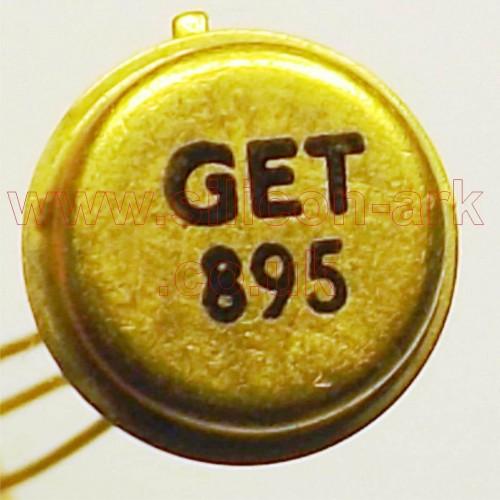 GET895 Germanium PNP transistor - Mullard