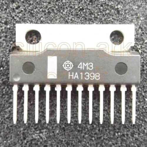 HA1398 Dual 5.8Watt Audio power Amp - Hitachi