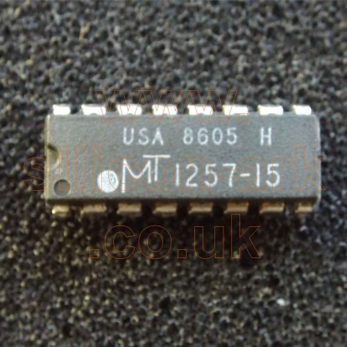1257-15 (MT1257-15) 256K 150nS DRAM memory - Micron Technology