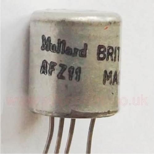 AFZ11 Germanium PNP transistor - Mullard