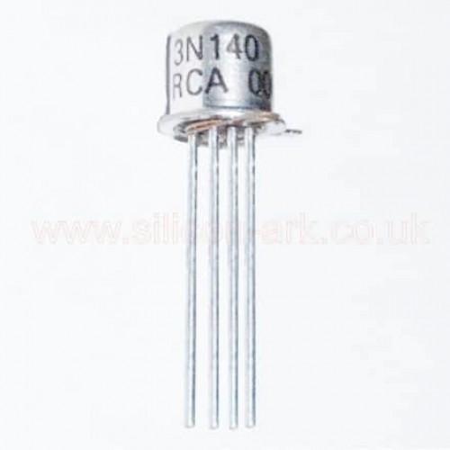 3N140 N-channel dual gate MOSFET - RCA