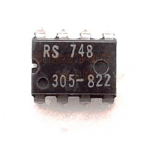 748OPA  Op-Amp (RS305-822) - RS Components