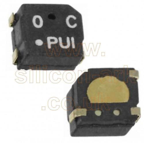 4KHz  78dBA Audio  transducer  5x5mm  (SMT-0540-T-7-R) - Pui Audio