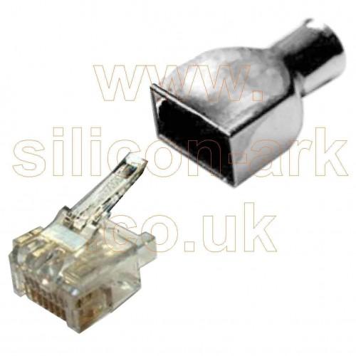 cat5 RJ45 8-way modular connector (336330-1) - TE Connectivity