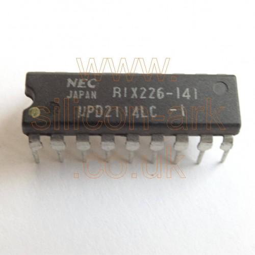 2114  (uPD2114LC-1)  4096-bit (1024x4)  Static RAM - NEC