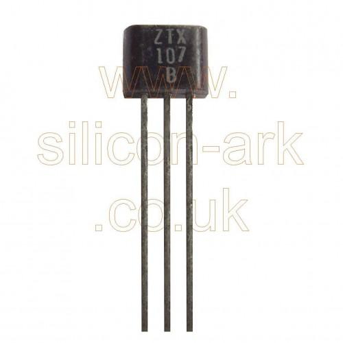 ZTX107B silicon NPN general purpose transistor - Ferranti