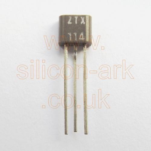 ZTX114 silicon NPN low noise transistor - Zetex