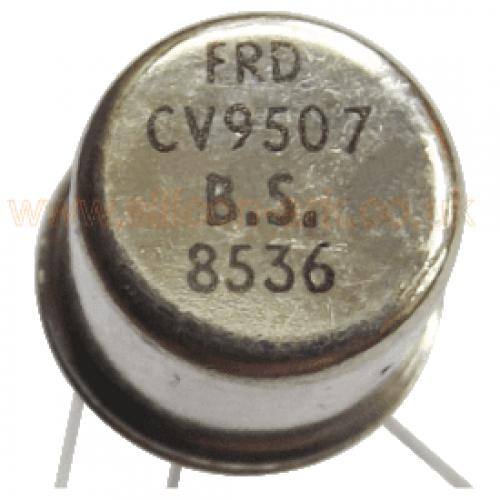 CV9507 silicon PNP transistor - Ferranti
