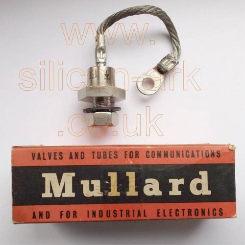 BYZ14 stud rectifier - Mullard